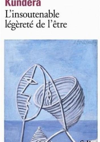 Okładka książki L'insoutenable légèreté de l'être