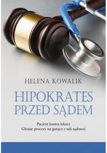 Okładka książki Hipokrates przed sądem