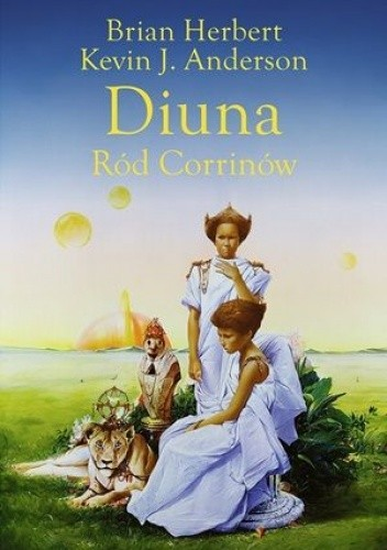 Okładka książki Diuna. Ród Corrinów