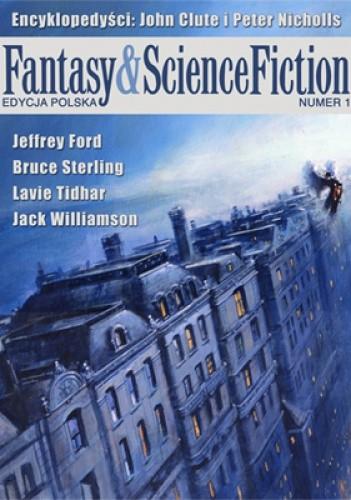 Okładka książki Fantasy & Science Fiction. Edycja Polska, 1/2013