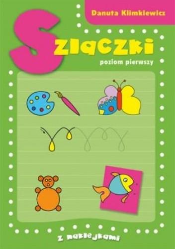 Okładka książki Szlaczki. Poziom pierwszy z naklejkami
