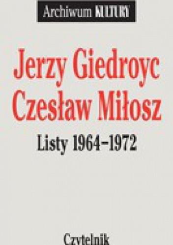 Okładka książki Listy 1964-1972