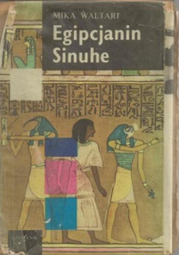 Okładka książki Egipcjanin Sinuhe