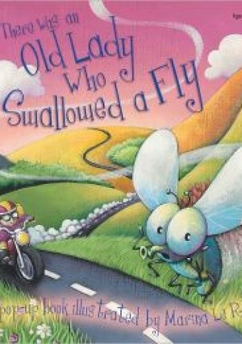 Okładka książki There Was an Old Lady Who Swallowed a Fly Pop-Up Storybook