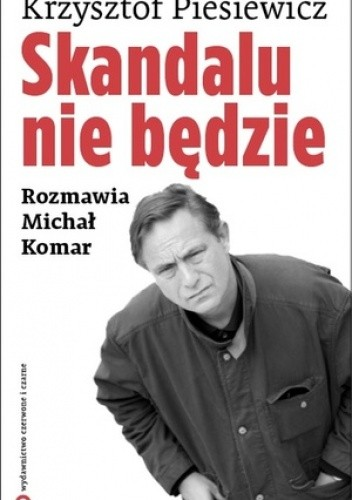 Okładka książki Skandalu nie będzie
