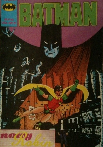 Okładka książki Batman 9/1991