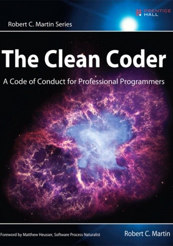 Okładka książki The Clean Coder. A Code of Conduct for Professional Programmers