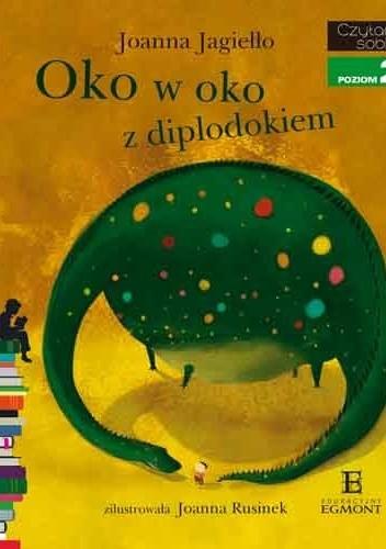 Okładka książki Oko w oko z diplodokiem