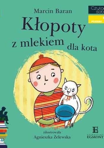 Okładka książki Kłopoty z mlekiem dla kota