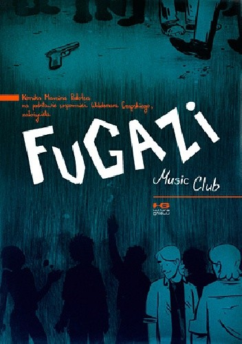 Okładka książki Fugazi Music Club