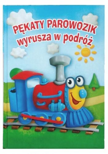 Okładka książki Pękaty Parowozik wyrusza w podróż