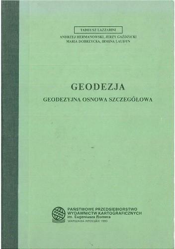Okładka książki Geodezja. Geodezyjna osnowa szczegółowa