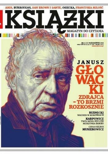 Okładka książki Książki. Magazyn do czytania, nr 3 (10) / październik 2013