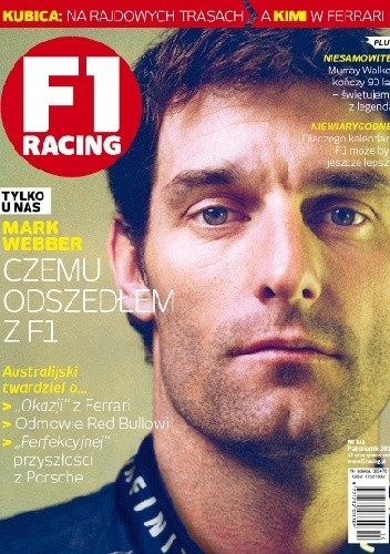 Okładka książki F1 racing nr 10/2013