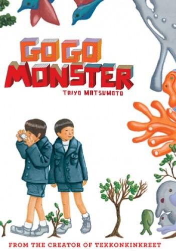Okładka książki GoGo Monster