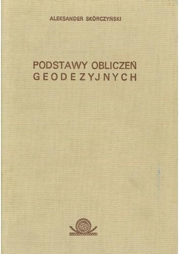Okładka książki Podstawy obliczeń geodezyjnych