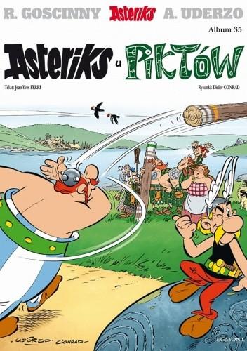 Okładka książki Asteriks u Piktów