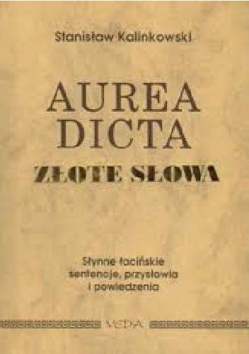 Okładka książki Aurea dicta. Złote słowa