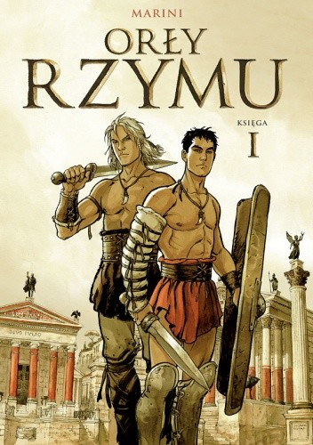 Okładka książki Orły Rzymu. Księga 1