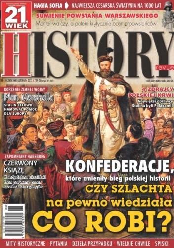 Okładka książki 21.Wiek History Revue nr 06/2013 r.