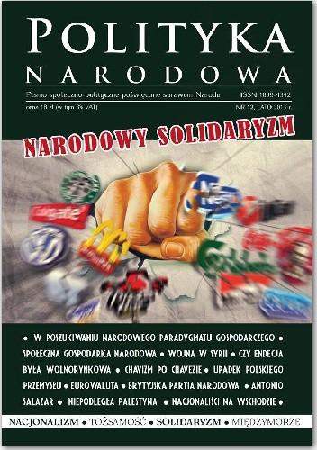 Okładka książki Polityka Narodowa 12/2013