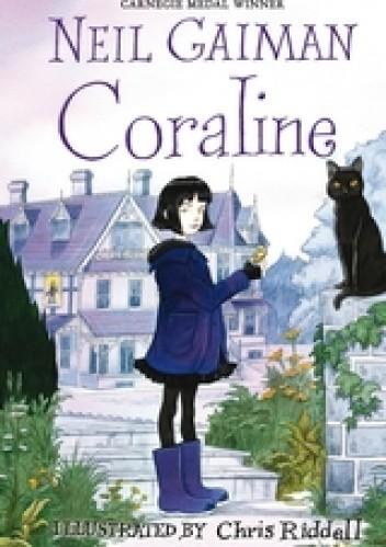 Okładka książki Coraline