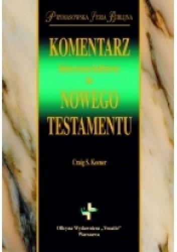 Okładka książki Historyczno-kulturowy komentarz do Nowego Testamentu