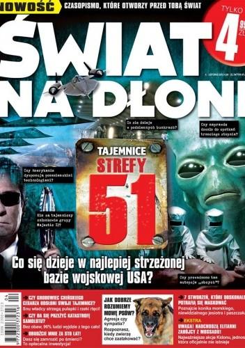 Okładka książki Świat na dłoni 4/2013