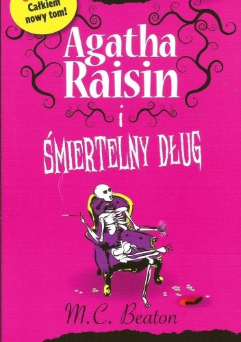 Okładka książki Agatha Raisin i śmiertelny dług