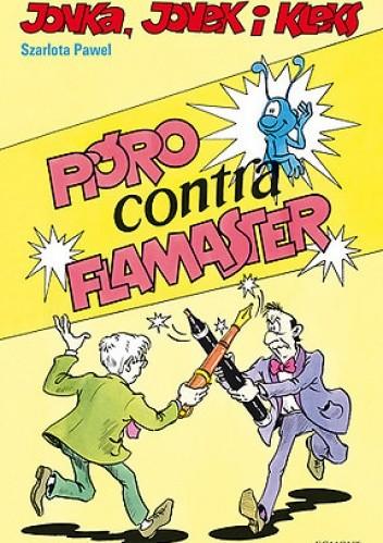 Okładka książki Pióro contra flamaster