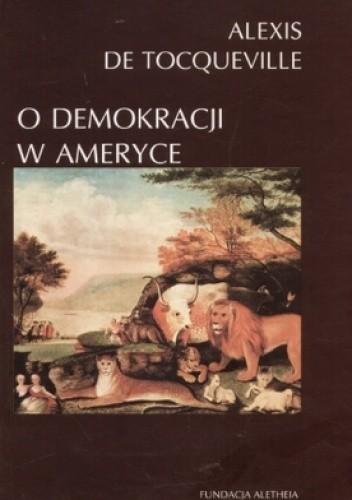 Okładka książki O demokracji w Ameryce