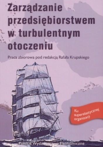Okładka książki zarządzanie przedsiębiorstwem w turbulentnym otoczeniu