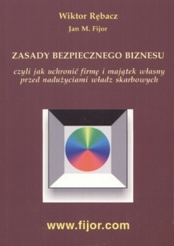 Okładka książki zasady bezpiecznego biznesu