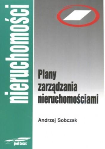 Okładka książki Plany zarządzania nieruchomościami