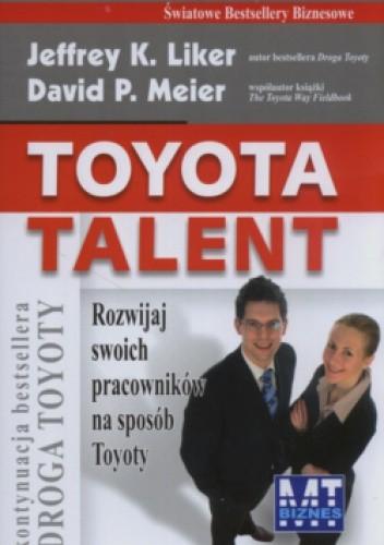 Okładka książki Toyota Talent