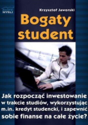 Okładka książki Bogaty student