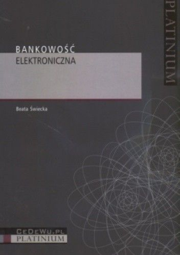 Okładka książki Bankowość elektroniczna