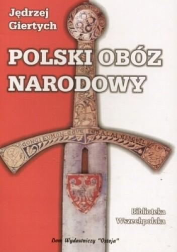 Okładka książki Polski Obóz Narodowy