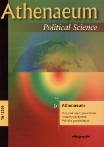 Okładka książki Athenaeum nr 16/2006. Political Science