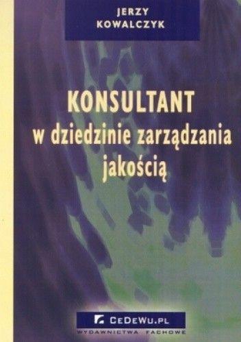 Okładka książki Konsultant w dziedzinie zarządzania jakością