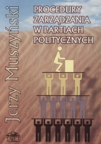 Okładka książki Procedury zarządzania w partiach politycznych