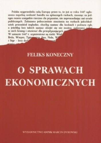 Okładka książki O sprawach ekonomicznych