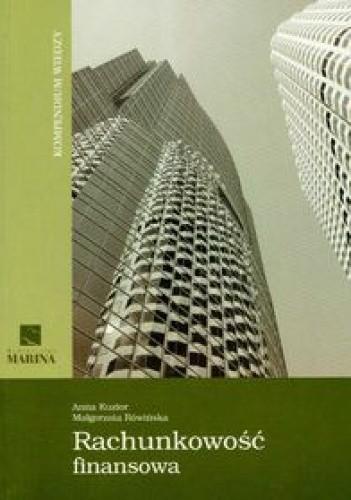 Okładka książki Rachunkowoać finansowa Kompendium wiedzy