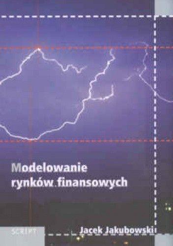 Okładka książki Modelowanie rynków finansowych