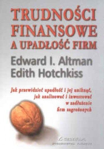 Okładka książki Trudności finansowe a upadłość firm