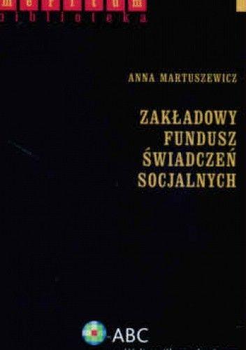 Okładka książki zakładowy Fundusz świadczeń Socjalnych