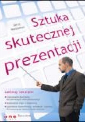 Okładka książki Sztuka skutecznej prezentacji