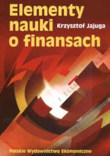 Okładka książki Elementy nauki o finansach