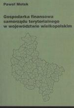 Okładka książki Gospodarka finansowa samorządu terytorialnego w województwie wielkopolskim