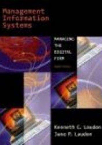 Okładka książki Management Information Systems